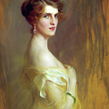 Portrait Of A Lady In Yellow by Isabella Howard