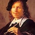 Portrait Of A Man 1640 by Dou Gerrit