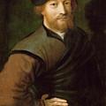 Portrait Of A Man by Jan Sanders van Hemessen