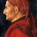 Portrait Of A Man by Mantegna Andrea