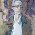 Portrait Of A Man by Murat Kaboulov