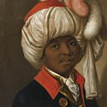 Portrait Of A Man Wearing A Turban by Eastern Accents