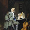 Portrait Of A Member Of The Van Der Mersch Family, 1736 by Cornelis Troost