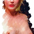 Portrait Of A Naked Lady by Mary Bassett