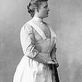 Portrait Of A Nurse by Underwood Archives