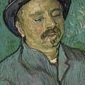 Portrait Of A One Eyed Man Saint Remy De Provence  Autumn 1889 Vincent Van Gogh 1853  1890 by Artistic Panda