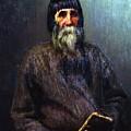 Portrait Of A Peasant 1889 Ilya Repin by Eloisa Mannion