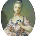 Portrait Of A Pensionnaire Of The King by Jean Baptiste