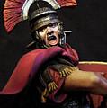 Portrait Of A Roman Legionary - 11 by Andrea Mazzocchetti