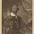 Portrait Of A Seated Man by Cornelis Ploos Van Amstel And Johannes Kornlein After Cornelis Visscher
