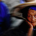 Portrait Of A Senior Lady In Yun Nan, China by Kang Wu
