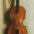 Portrait Of A Violin by Jan van der Vaart