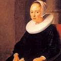 Portrait Of A Woman 1646 by Dou Gerrit