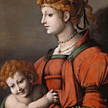 Portrait Of A Woman And Child - Allegory Of Liberality by MotionAge Designs