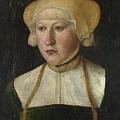 Portrait Of A Woman by PixBreak Art