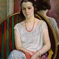 Portrait Of A Woman by Henri Lebasque