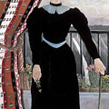 Portrait Of A Woman by Henri Rousseau
