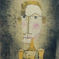 Portrait Of A Yellow Man By Paul Klee 1921 by Paul Klee