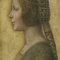 Portrait Of A Young Fiancee by Leonardo Da Vinci