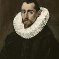 Portrait Of A Young Gentleman by El Greco