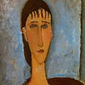 Portrait Of A Young Girl 1910 by Modigliani Amedeo
