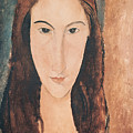 Portrait Of A Young Girl by Amedeo Modigliani