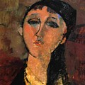 Portrait Of A Young Girl Louise 1915 by Modigliani Amedeo