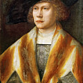 Portrait Of A Young Man by Bernard van Orley