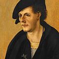 Portrait Of A Young Man by Hans Leonhard Schaufelein