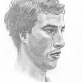 Portrait Of A Young Man by Masha Batkova