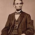 Portrait Of Abraham Lincoln by Mathew Brady