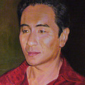 Portrait Of Actor Anthony Brandon Wong by Anees Peterman