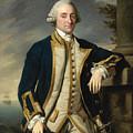 Portrait Of Admiral Sir Hugh Palliser 1st Bart by Nathaniel Dance
