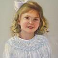Portrait Of Amy by Melanie Miller Longshore