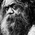 Portrait Of An Australian Aborigine by Sheila Smart Fine Art Photography