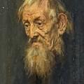 Portrait Of An Old Man 1913 by Gebhardt Eduard von