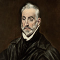 Portrait Of Antonio De Covarrubias by El Greco