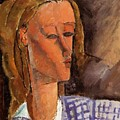Portrait Of Beatrice Hastings 1916 by Modigliani Amedeo