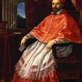 Portrait Of Cardinal Roberto Ubaldini 1625 by Reni Guido