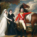 Portrait Of Colonel Fitch And His Sisters by John Singleton Copley