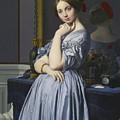 Portrait Of Comtesse D'haussonville by Jean-Auguste-Dominique Ingres