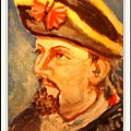 Portrait Of Conrad As British Soldier by Patricia Ducher