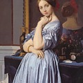 Portrait Of Countess D Haussonville by Ingres Jean Auguste Dominique