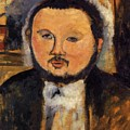 Portrait Of Diego Rivera 1914 by Modigliani Amedeo