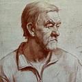 Portrait Of Elderly Man by Olga Bukh