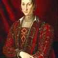 Portrait Of Eleanora Di Toledo by Bronzino