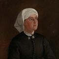 Portrait Of Elseberg Herrestvedt by Adolph Tidemand