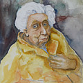 Portrait Of Eudora Welty   by Dan Earle