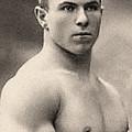 Portrait Of George Hackenschmidt by English School