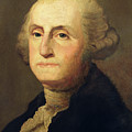 Portrait Of George Washington by Gilbert Stuart